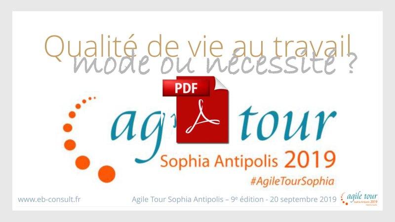 Présentation Agile tour QVT eb-consult
