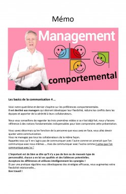 4 – La communication efficace