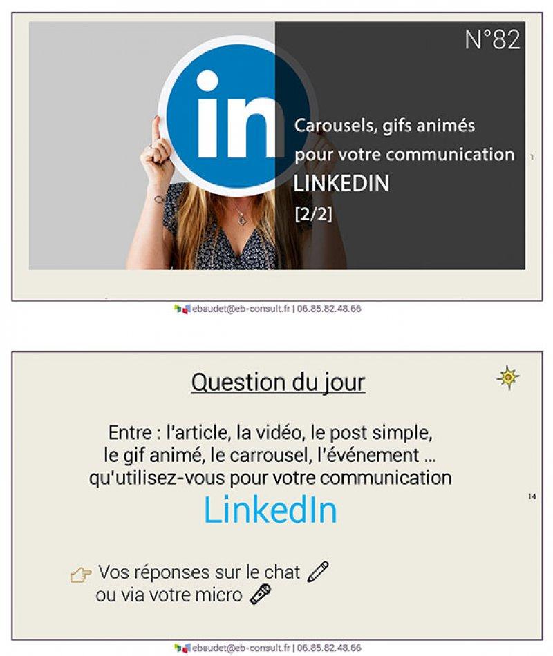 #82 – Articles posts Gif caroussel LinkedIn 2