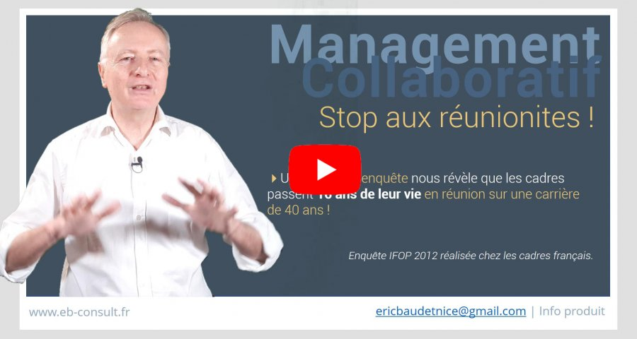 Réunions collaboratives formation en managemen collaboratif eb-c