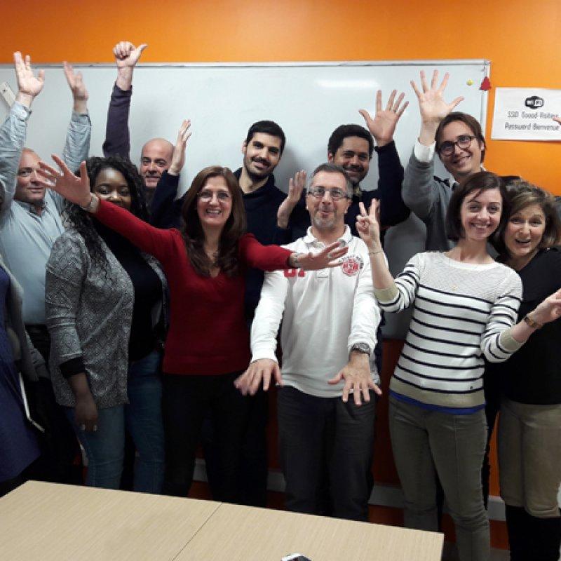 Soirée Management Collaboratif à Sophia Antipolis. Atelier confé